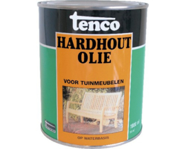 Tenco hardhout olie transparant waterbasis 1 liter