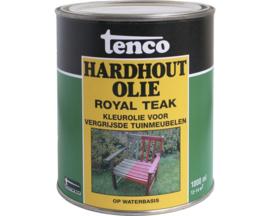 Tenco hardhout olie royal teak waterbasis 1 liter