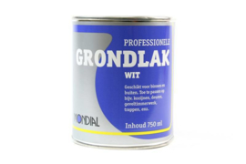 Mondial professionele Grondverf Wit 250 ML