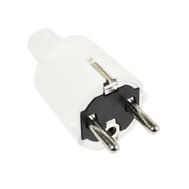 Stekker ABL PVC Wit
