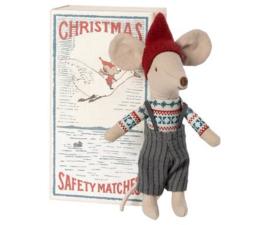Maileg Grote broer muis kerst