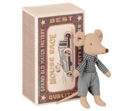 Maileg Kleine broer muis in doosje