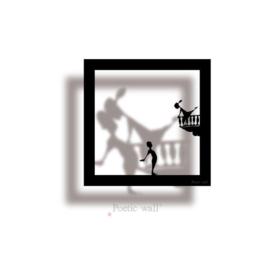 """Sticker """"Romeo en Julia"""""""