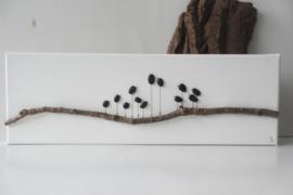 Rocking Birds 60 x 20 cm