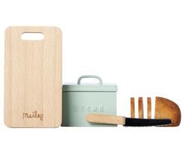 Maileg brood set met plank en mes