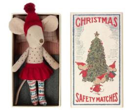 Maileg Grote zus muis kerst