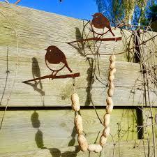 Metalbird roodborstje vetbolhouder set