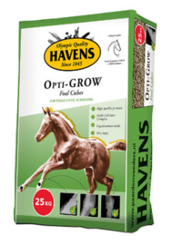 Havens Opti-GROW veulenkorrel 25 kg.