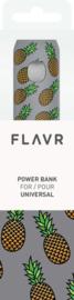Flavr Power Bank 2600 mAh - Pineapples