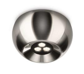 Philips Ledino Nio Plafondlamp - Led - Mat Chroom