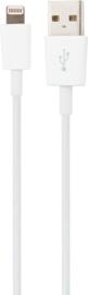 XQISIT Lightning USB Kabel - Wit