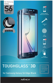 Avanca Screenprotector - Samsung Galaxy S6 Edge - Zwart