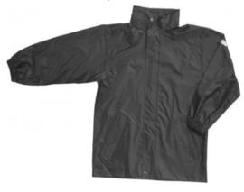 Regenjack Essential - Zwart - Maat M
