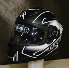 Integraal Helm RXA Xenon Graphic BS - Zwart/Wit