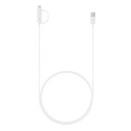 Samsung Datakabel - Micro USB & USB-C - wit