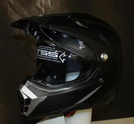 RXA Helm X-Road - Mat Zwart - Maat XS