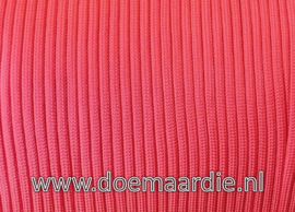 Paracord 550 Salmon Red, vanaf 29 cent per meter.