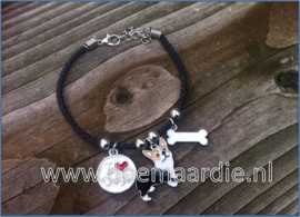 Welsh Corgi armband.