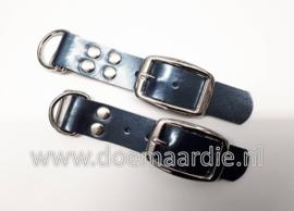 Adapter 25 mm, Metallic blauw, 2 of 4 holnieten