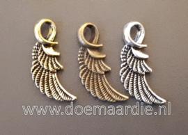 Vleugel, oud zilverkleur