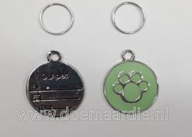 Hondenpenning pootje, groen