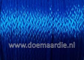 PP gevlochten multi koord, blauw 3 mm, 50 meter