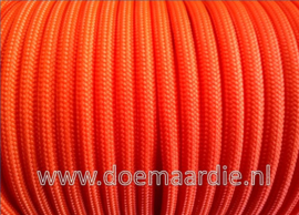 Paracord 550 Neon Orange 6 / 15 / 30 meter.