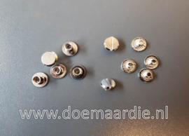 Boekschroef, silver 10 mm. lang vanaf 0,245 cent.