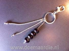 Sleutelhanger voor groot gat style hangers.
