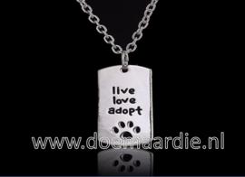 Live, love, adopt.