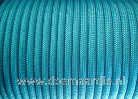 Paracord 550 Neon Turquoise 6 / 15 / 30 meter.