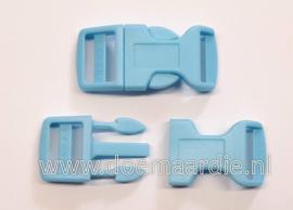Buckle ,  Large blauw, doorvoer 20 mm