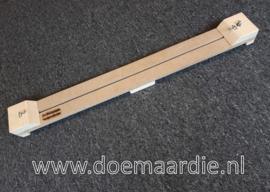 Lange paracord plank, jig. Tussen de haken: 76 cm.