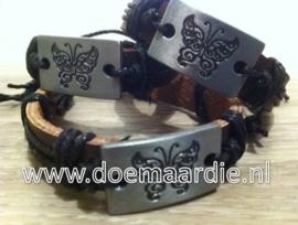 Vlinder armband.