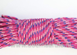 Surf cord, paradise pink