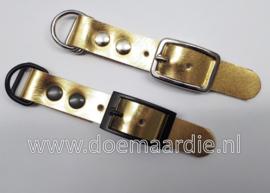 Adapter 20 mm, metallic goud