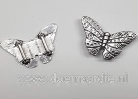Schuifkraal XXL vlinder