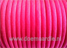 Paracord, 100 type l, Neon roze 6 / 15 / 30.