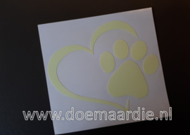 Glow in the dark sticker.