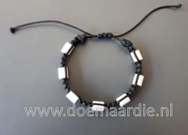 Keramiek armband xxl. ong 20 tot 25 cm.