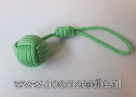 Monkey fist mint groen, 34 mm.