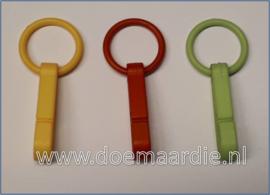 Sleutelhangertje, keycord hanger, per 10.