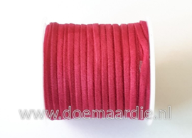 Suede faux, fuchsia , 8 meter
