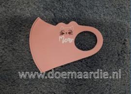 Peuter of kleuter mondmaskertje, roze