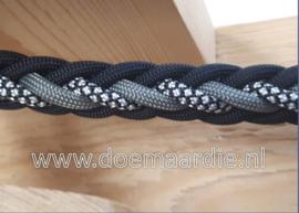 8 strand verstelbare lijn pakket, black grey