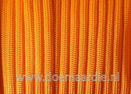 Paracord 550 Apricot Orange, vanaf 27 cent per meter.