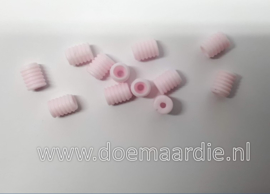Stoppers elastiek/type 1, roze per 10