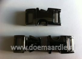 Gun metal, mini. vanaf 2,00 per stuk. (3/8)
