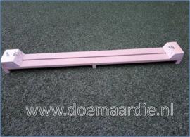 Luxe lange knoopplank, tussen de haken ong 79 cm, voor halsbanden.
