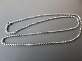 RVS ketting, 60 cm